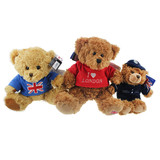 Custom Logo Plush Teddy Bear With T-shirt Promotional Gift