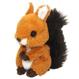 Custom Cute Stuffed Animal Soft Toy Plush Squirrel