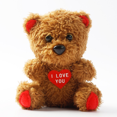 Stuffed Plush Valentine's Teddy Bear Toy Promotional Gifts