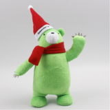 Cute Cartoon Stuffed Plush Christmas Doll Toy Mascot