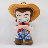 Customized Stuffed Plush Cartoon Doll Farmer Toy