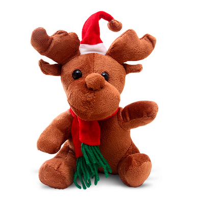 Christmas Plush Stuffed Deer Animals Toy For Promotion Gift