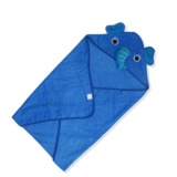 Animal Hooded Toweling Baby Blanket Infant Sleeping Bag