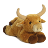 Custom Animal Stuffed Plush Bull Toy