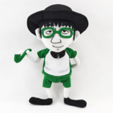 Customized Cartoon Stuffed Plush Man Doll Toy Gifts