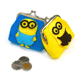 Customized Cartoon Plush Coin Purse For Promotion Gift